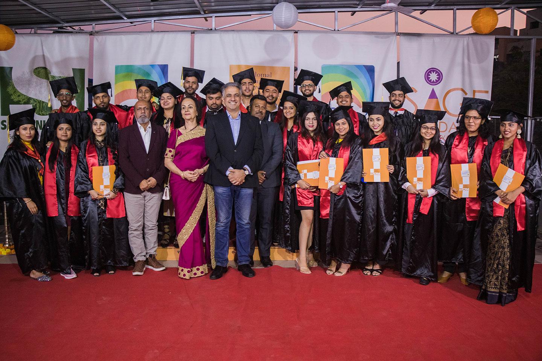 Convocation ceremony of MBA 2017-19 Batch