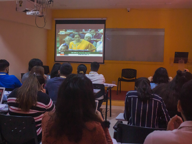 MBA students PPT presentation on Budget 2020