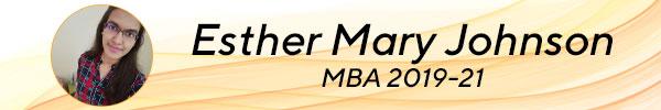 Esther Mary Johnson, MBA 2019-22 tscfm