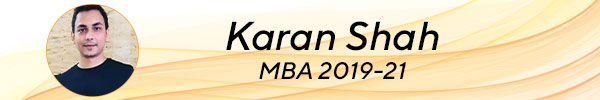 Karan Shah, MBA 2019-22 tscfm