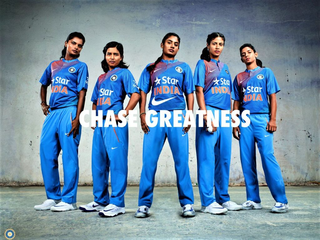 Nike Features Indian Women S Cricket Team In Ads Tscfm Org