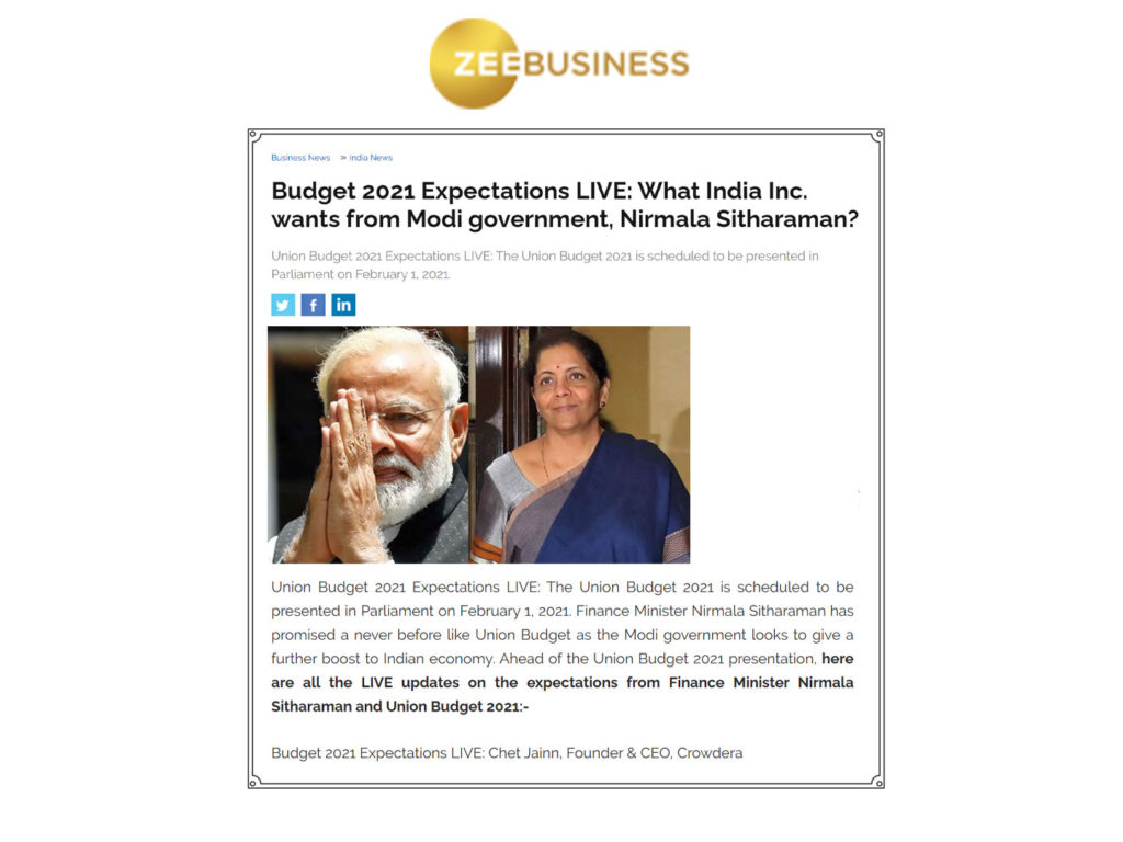 The Union Budget 2021 Expectations by Education sector