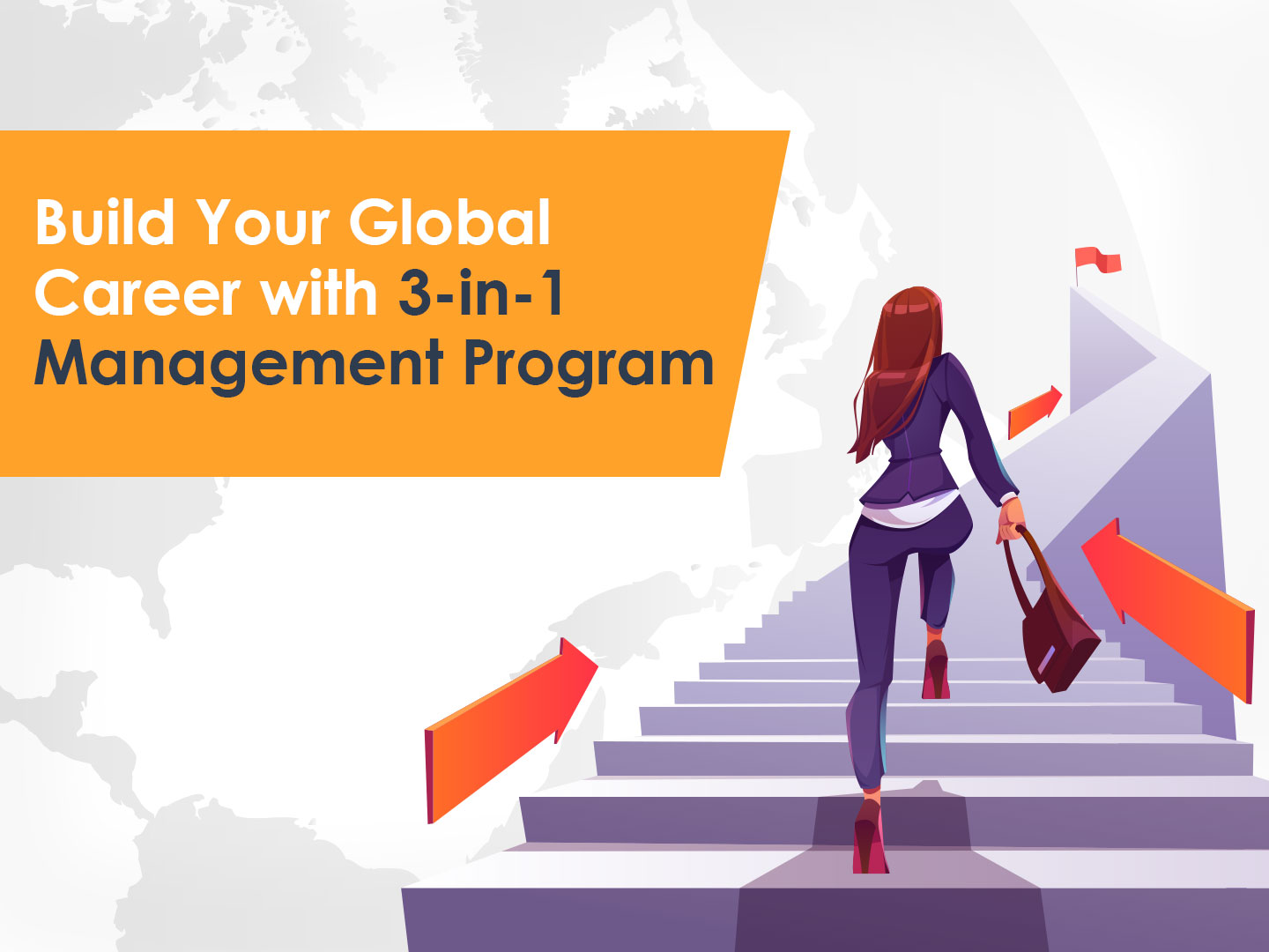Expand your possibilities of becoming a Qualified Manager with 3 in1 Management Program