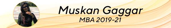 Muskan Gaggar, MBA 2019-22 tscfm